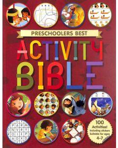 Preschoolers Best Activity Bible (Ages 4 - 7)