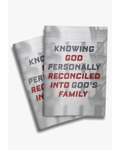 Knowing God Personally-Reconciled (min. 20)
