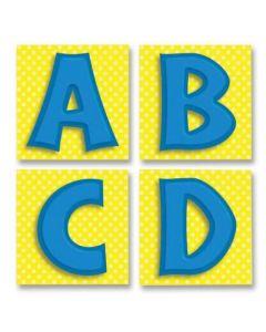 Quick Stick-Blue Letters (CD-119011)
