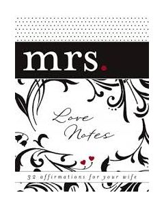 Note Set-MRS. Love Notes (39238)