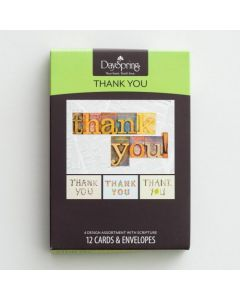 Boxed Cards-Thank You, Many Blessings, 74880