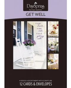 Boxed Cards-Get Well, Sunny Days (74889)