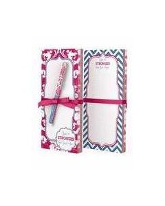 Pen & Memo Pads Set-Stronger Than/U Know (39639)