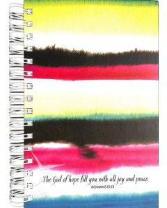 """Journal-God of Hope,Watercolor, 5 3/8x8.5""""(20209)"""