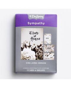Boxed Cards-Sympathy Black & White (60944)