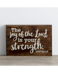 Plaque (Wood)-Joy of the Lord (61754)