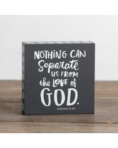 Plaque (Mini)-Nothing Can Separate, 91461