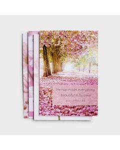 Boxed Cards-Birthday Pretty Pinks, J0387