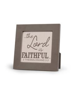 Plaque,The Lord is Faithful