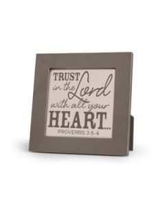 Plaque, Trust in the Lord