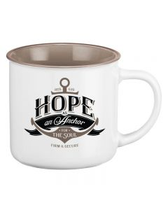 Hope As An Anchor Coffee Mug
