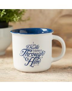 I Can Do All Things Camp Style Coffee Mug
