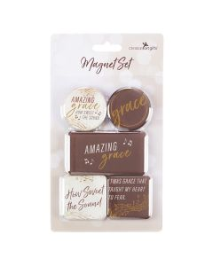Magnetic Set of 5 - Amazing Grace