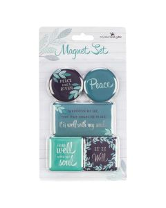 Magnetic Set of 5 - It Is Well With My Soul