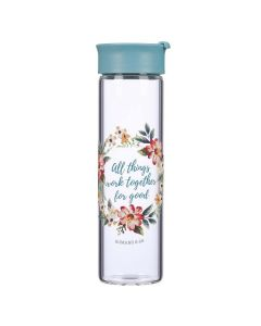 All Things Work Together, Glass Water Bottle