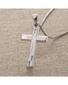 Cross Pendant - DS0384 (Follow Jesus)