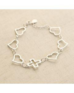 Bracelet - SL0015 (Jesus Heart)