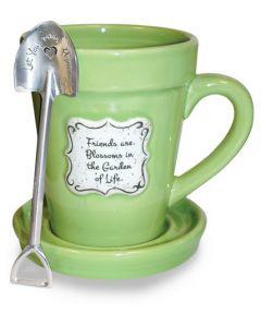 Mug (FlowerPot)-Friends, Lime