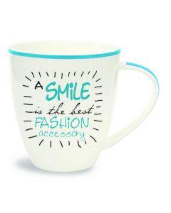 Mug (Conversation)-Smile, Best Fashion