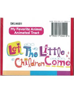 My Favorite Animal Animated Tract 10/pack