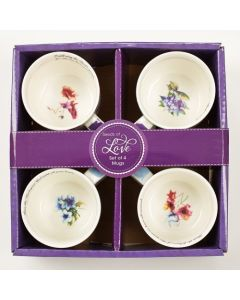 Mug: Ceramic- SET/4, Seeds of Love (MUGS03)