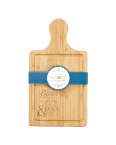 Bless the Food Before Us (Bamboo Cutting Board)