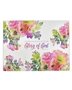 Glory of God (Large Glass Cutting Board)