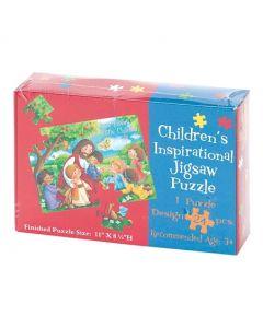 Puzzle: Jesus Loves The Little Children