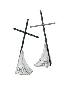 TableTop Cross (Metal)-Man of God (TTCMR-3)