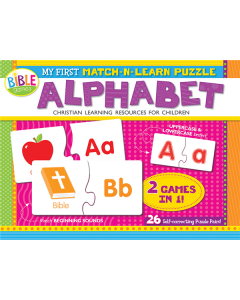 My First Match-n-Learn Puzzle: Alphabet