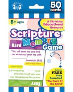 Scripture Memory Christian 50-Count Game Cards