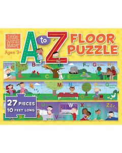 A to Z Floor Puzzle Box
