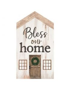 Little House Tabletop: Bless Our Home