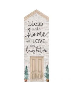 Little House Tabletop - Bless This Home With Love And Laughter