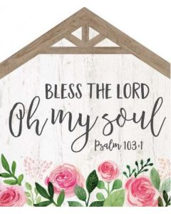 Little House Tabletop: Bless The Lord