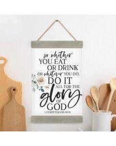 Banner Art - Do It All For The Glory Of God