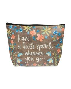 A Little Sparkle Simple Inspirations Cosmetic Bag