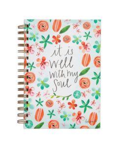 It Is Well, Wirebound Scripture Journal
