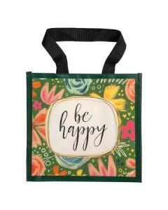 Be Happy, Tote Bag