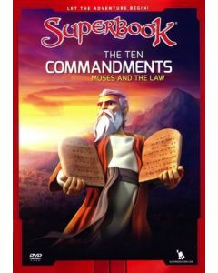 Ten Commandments (Moses and the Law) - DVD