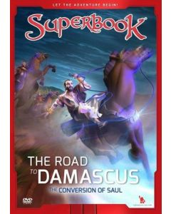 Superbook- Road to Damascus: Saul (DVD)