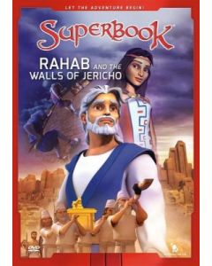 Superbook 2-Rahab & The Walls of Jericho (DVD)