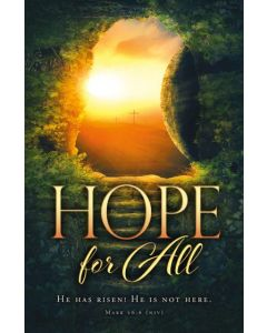 Bulletin-Easter, Hope for All - 100pcs