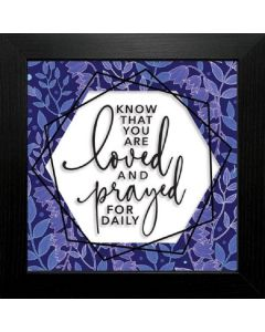 Know that You Are Loved, Framed Suncatcher