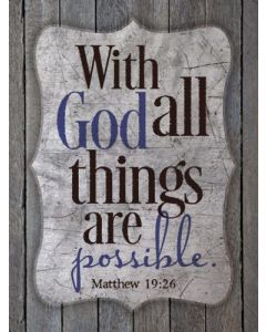 Magnet: With God All Things Possible