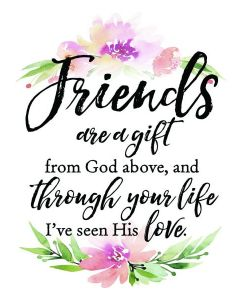 Friends Are A Gift, Woodland Magnet