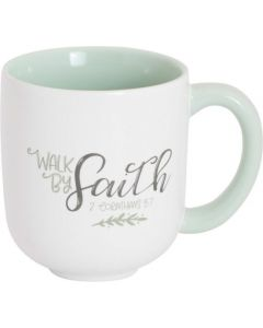 Walk By Faith, Ceramic Mug