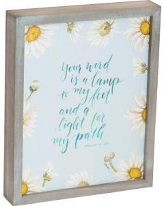 Your Word is a Lamp Framed Art