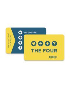FOUR Evangelism Card (min. 20)