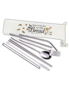 Matthew 6:11 Cutlery Set